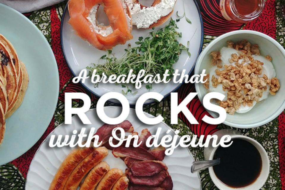 A holiday breakfast that ROCKS!