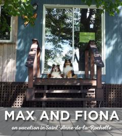 Max and Fiona on vacation in Saint-Anne-de-la-Rochelle?