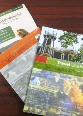 CD package, map and Travel Guide promotion