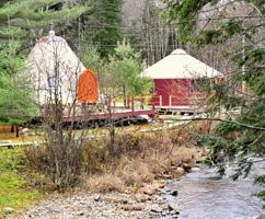 Non-traditional lodging (Cabins, Yurts and tipis)