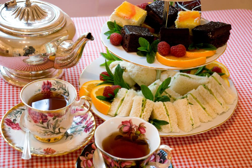Tea Menu: The delightful English Tea!