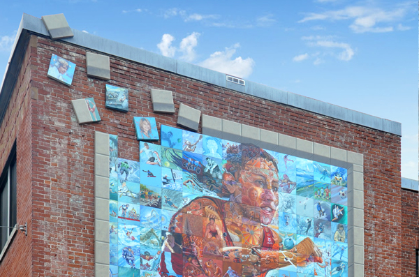 Circuit des murales: Sherbrooke - Urban walks