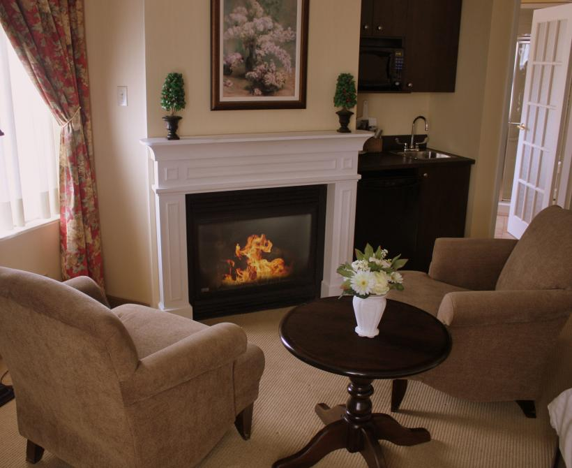 Suite Grand Luxe: Our suites offer a fireplace