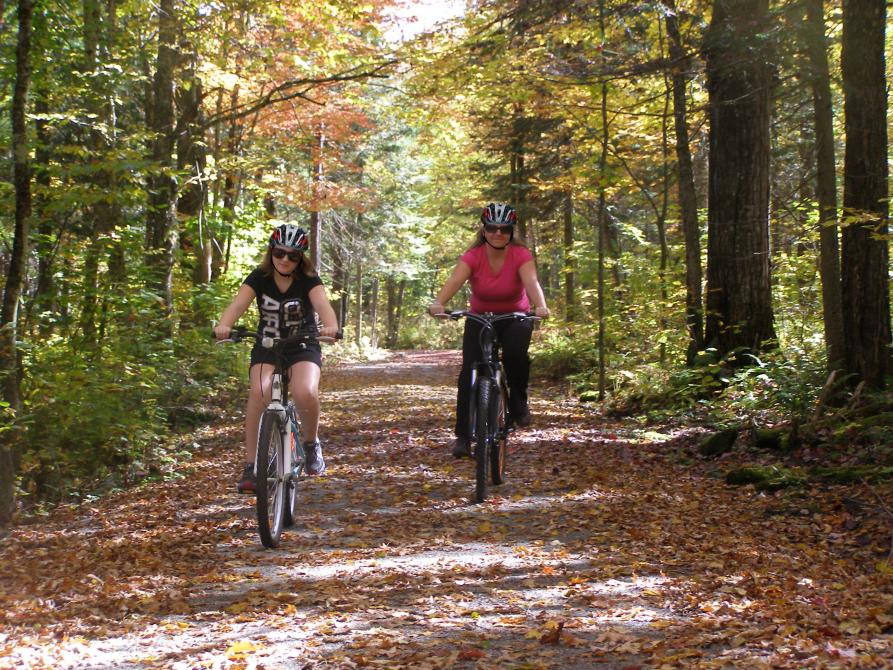 Cycling - Parc national de Frontenac: ©Donald Bisson