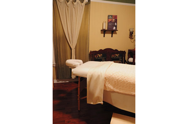 Massage room: