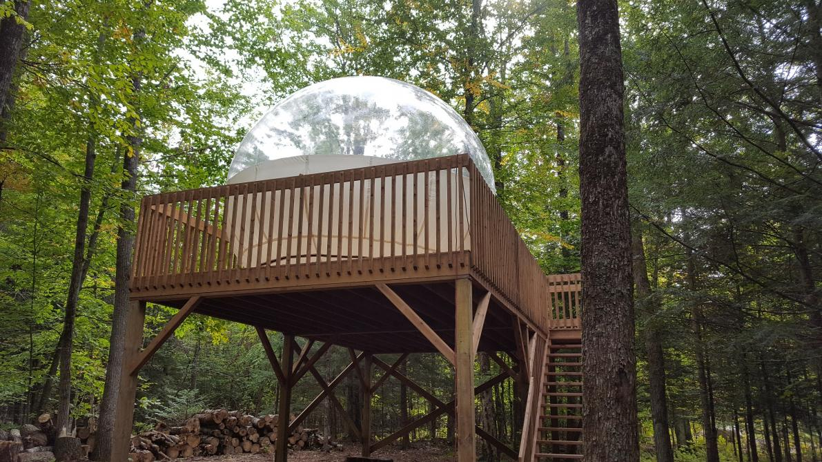 Buble Tent: For an original stay: opt for our bubble tent!