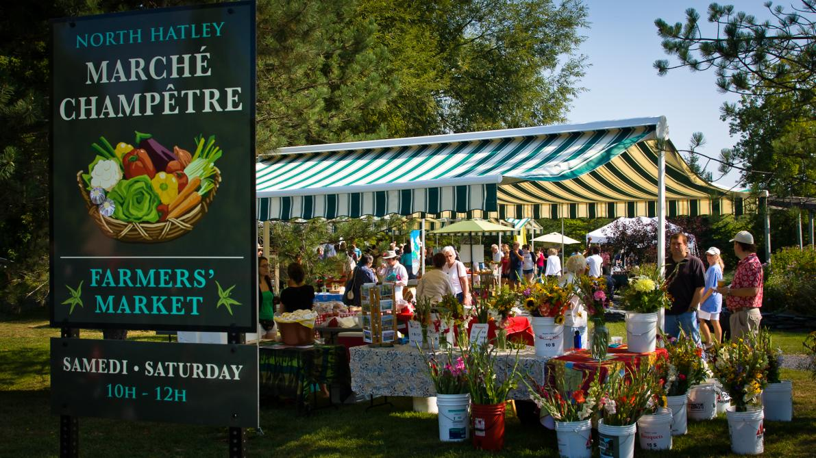 North Hatley's Farmers' Market: Photo : Association des commerçants de North Hatley