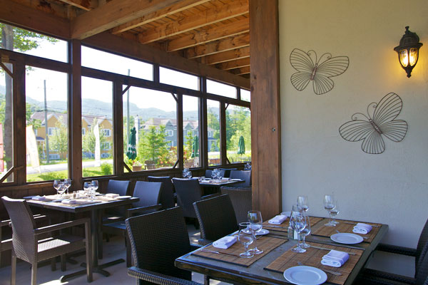 Bistro 4 Saisons - Terrace: