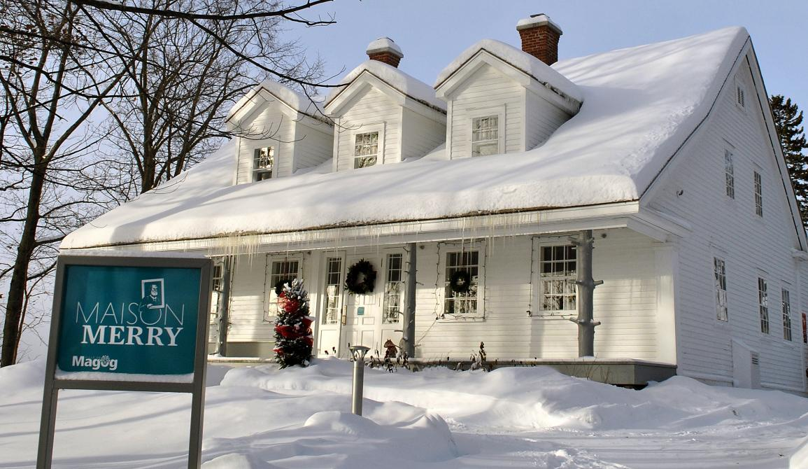 The Merry House: The Merry House is a citizen site of memory that presents Magog's history and that of the region from the time of the Aboriginal peoples and the American settlers, up to today. Discover the oldest house in urban Magog through exhibitions and exciting activities.