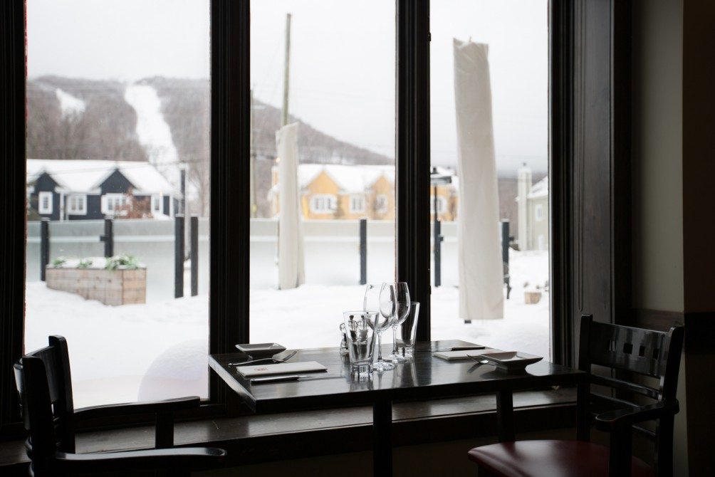 Bistro 4 Saisons - Winter view: