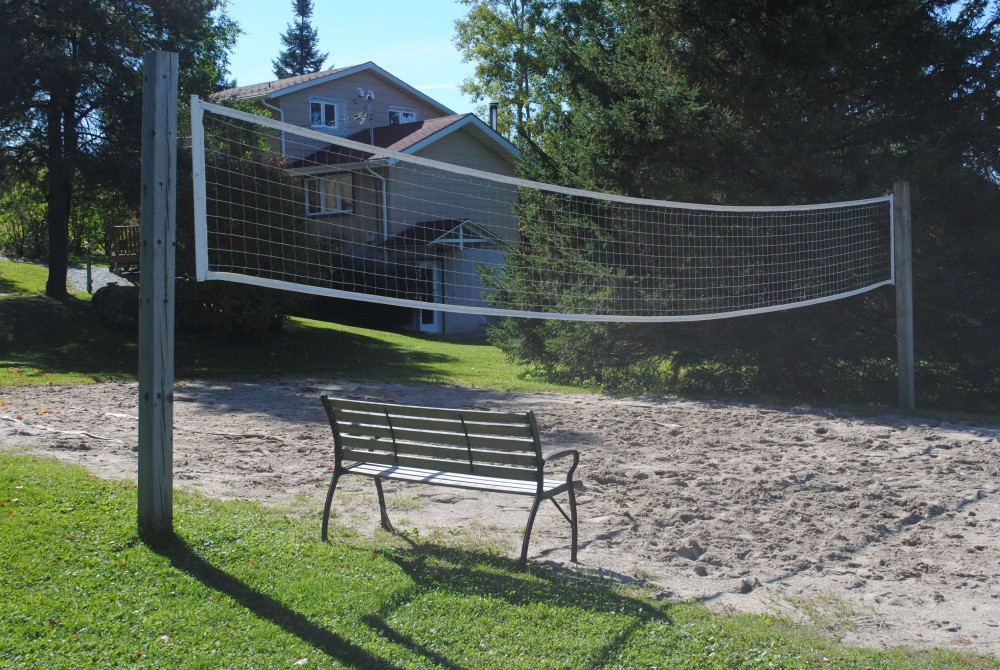 Vooley ball court (on sand):