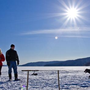 Ice fishing packages