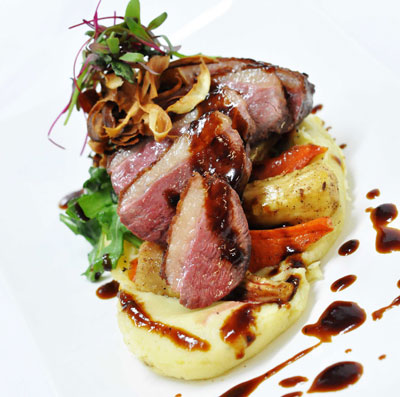 Apple & cardamom roasted duck breast | Eastern Townships ...