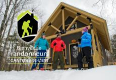 "Accommodations with ""Bienvenue randonneurs"" (welcome hikers) certification"
