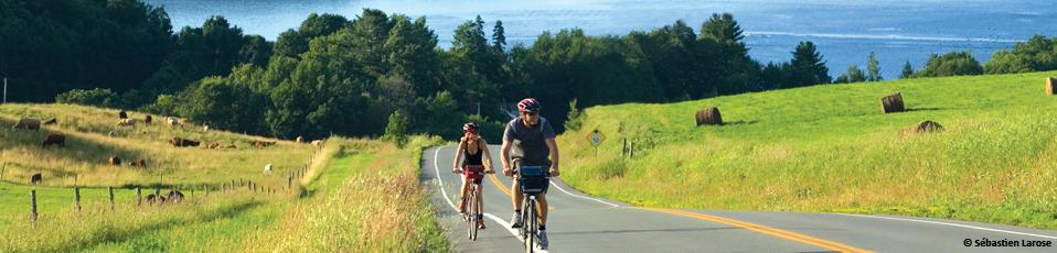 Cycling trips in the Quebec Eastern Townships region