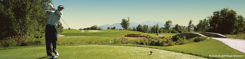 Royal Bromont golf course, Eastern Townships
