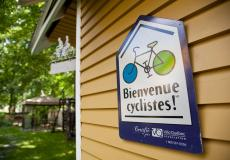 "Bienvenue cyclistes!""—Certified Accommodations for Cyclists"