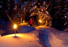 Snowshoes and Astronomy